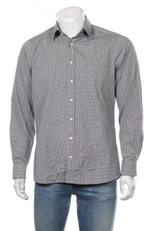 Мъжка риза Olymp, Размер L, Цвят Бял, 97% памук, 3% еластан, Цена 19,95лв.