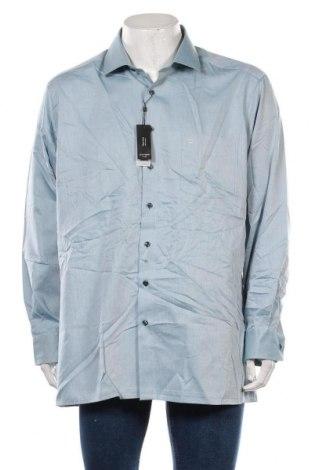 Мъжка риза Olymp, Размер XXL, Цвят Син, Памук, Цена 40,95лв.
