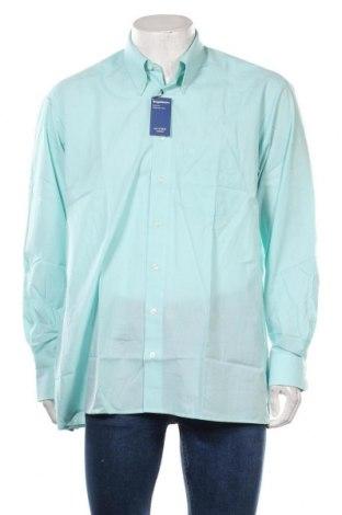 Мъжка риза Olymp, Размер L, Цвят Син, 70% памук, 30% полиестер, Цена 39,90лв.