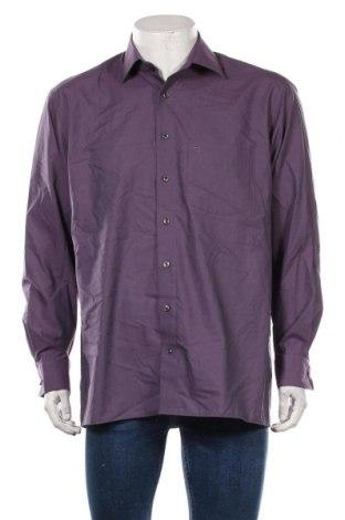 Мъжка риза Olymp, Размер L, Цвят Лилав, Памук, Цена 16,96лв.