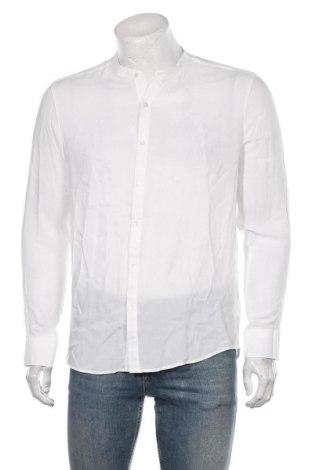 Męska koszula RNT23 Jeans, Rozmiar M, Kolor Biały, Wiskoza, Cena 178,00zł