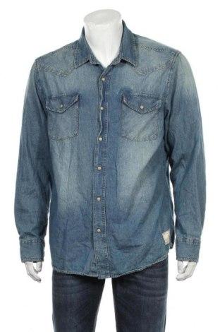 Ανδρικό πουκάμισο Roebuck & Co., Μέγεθος XL, Χρώμα Μπλέ, Βαμβάκι, Τιμή 13,64€