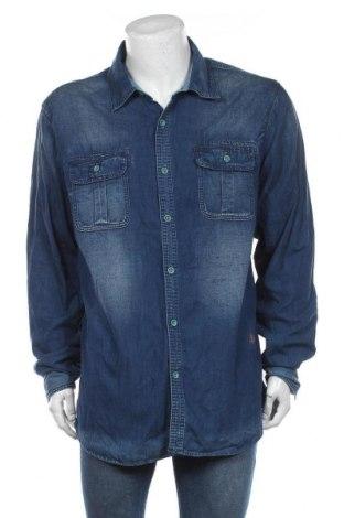 Ανδρικό πουκάμισο Scotch & Soda, Μέγεθος XXL, Χρώμα Μπλέ, Βαμβάκι, Τιμή 20,78€