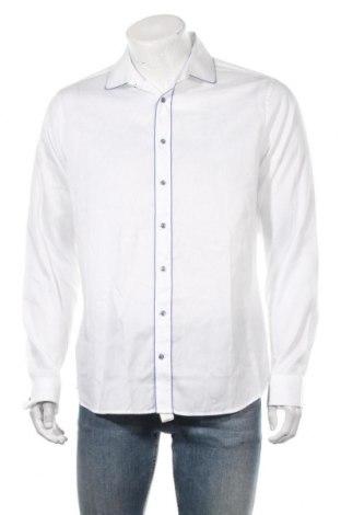 Ανδρικό πουκάμισο Seidensticker, Μέγεθος L, Χρώμα Λευκό, Βαμβάκι, Τιμή 12,34€