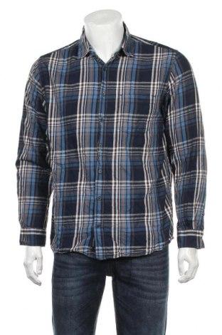 Мъжка риза Signal, Размер M, Цвят Син, 100% памук, Цена 15,12лв.