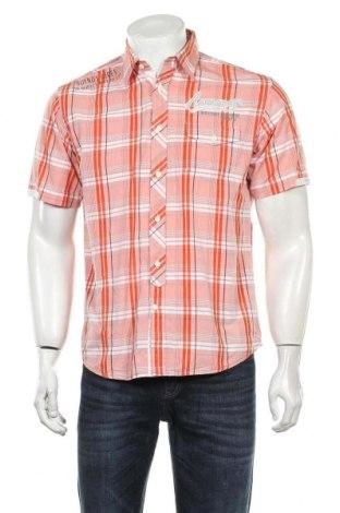 Мъжка риза Tom Tailor, Размер S, Цвят Червен, Памук, Цена 26,25лв.