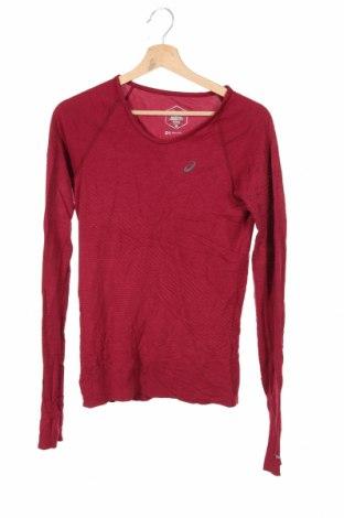 Мъжка спортна блуза ASICS, Размер S, Цвят Червен, Цена 23,10лв.