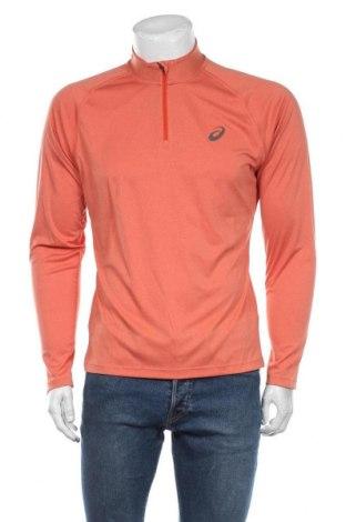 Мъжка спортна блуза ASICS, Размер M, Цвят Оранжев, Полиестер, Цена 51,75лв.