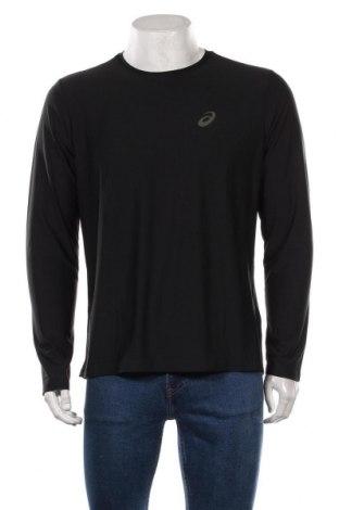 Мъжка спортна блуза ASICS, Размер L, Цвят Черен, Полиестер, Цена 51,75лв.