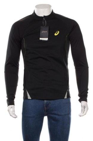 Мъжка спортна блуза ASICS, Размер S, Цвят Черен, Полиестер, Цена 51,75лв.