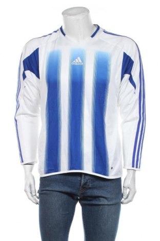 Мъжка спортна блуза Adidas, Размер M, Цвят Бял, Полиестер, Цена 16,80лв.