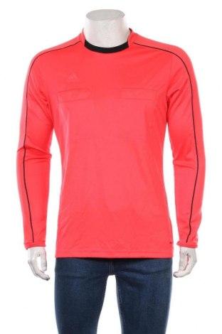 Мъжка спортна блуза Adidas, Размер M, Цвят Оранжев, 100% полиестер, Цена 24,15лв.