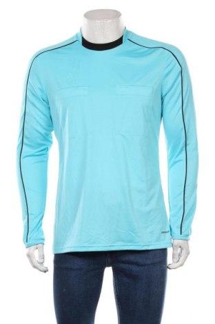 Мъжка спортна блуза Adidas, Размер M, Цвят Син, Полиестер, Цена 23,10лв.