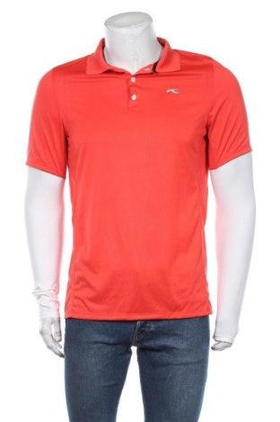 Мъжка тениска Kjus, Размер M, Цвят Червен, Полиестер, Цена 58,80лв.