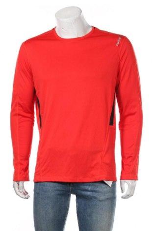 Bluză trening de bărbați Reebok, Mărime L, Culoare Roșu, Poliester, Preț 96,16 Lei