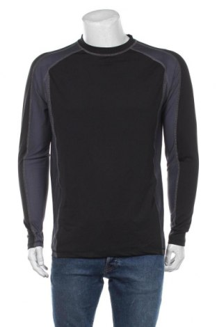 Męska sportowa bluzka Trespass, Rozmiar L, Kolor Czarny, 90% poliester, 10% elastyna, Cena 132,00zł