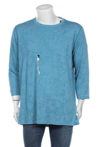 Мъжка спортна блуза Under Armour, Размер XXL, Цвят Син, Полиестер, Цена 66,75лв.