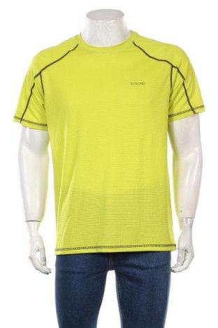 Męski T-shirt, Rozmiar L, Kolor Zielony, Poliester, Cena 38,00zł
