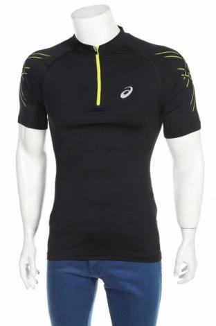 Męski T-shirt ASICS, Rozmiar L, Kolor Czarny, 84% poliamid, 16% elastyna, Cena 98,00zł