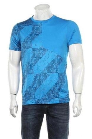 Мъжка тениска ASICS, Размер L, Цвят Син, Полиестер, Цена 26,60лв.