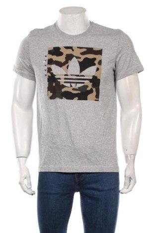 Męski T-shirt Adidas Originals, Rozmiar M, Kolor Szary, 90% bawełna, 10% poliester, Cena 138,00zł