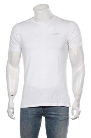 Ανδρικό t-shirt Azzaro, Μέγεθος L, Χρώμα Λευκό, Βαμβάκι, Τιμή 32,78€