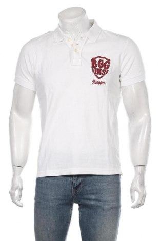 Мъжка тениска Biaggio Jeans, Размер S, Цвят Бял, Памук, Цена 18,85лв.