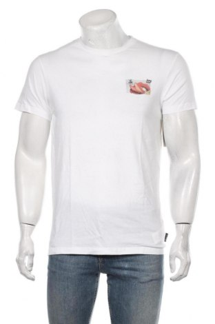 Мъжка тениска Billabong, Размер S, Цвят Бял, Памук, Цена 23,40лв.