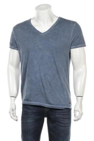 Tricou de bărbați Boss Orange, Mărime M, Culoare Albastru, Bumbac, Preț 256,58 Lei