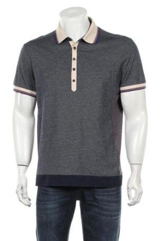 Мъжка тениска Boss Orange, Размер XL, Цвят Син, Памук, Цена 58,80лв.