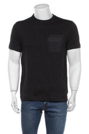 Мъжка тениска Calvin Klein, Размер M, Цвят Черен, Памук, Цена 48,96лв.