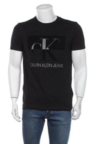 Tricou de bărbați Calvin Klein Jeans, Mărime XL, Culoare Negru, Bumbac, Preț 203,95 Lei