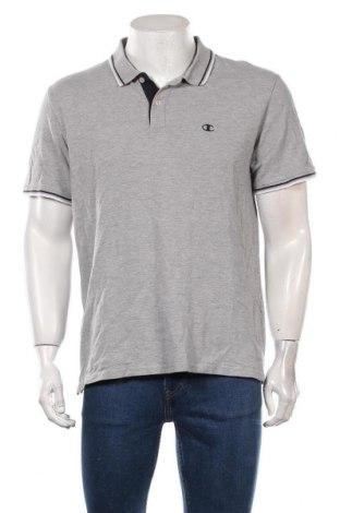 Мъжка тениска Champion, Размер XL, Цвят Сив, 90% памук, 10% вискоза, Цена 17,85лв.