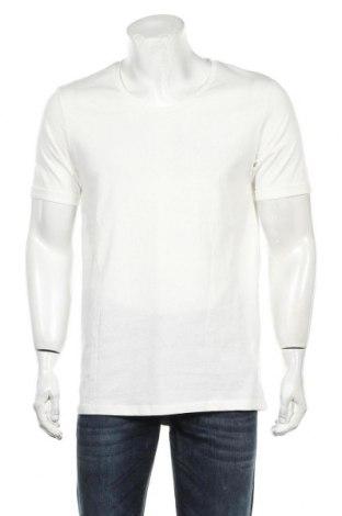 Мъжка тениска Core By Jack & Jones, Размер L, Цвят Бял, Памук, Цена 52,00лв.