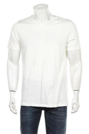 Мъжка тениска Core By Jack & Jones, Размер L, Цвят Бял, Памук, Цена 49,00лв.