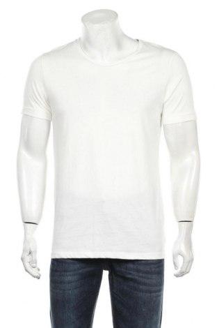 Мъжка тениска Core By Jack & Jones, Размер M, Цвят Бял, Памук, Цена 49,00лв.