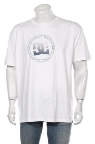Męski T-shirt DC Shoes, Rozmiar XL, Kolor Biały, Bawełna, Cena 138,00zł