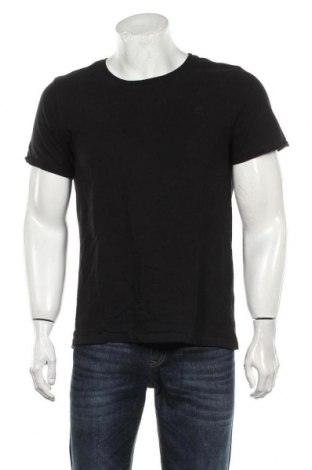 Tricou de bărbați Dreimaster, Mărime M, Culoare Negru, Bumbac, Preț 92,11 Lei