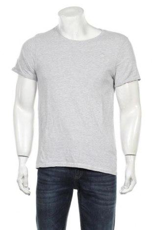 Мъжка тениска Dreimaster, Размер M, Цвят Сив, 90% памук, 10% вискоза, Цена 29,25лв.