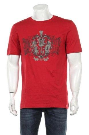 Мъжка тениска Edc By Esprit, Размер XL, Цвят Червен, Памук, Цена 16,80лв.