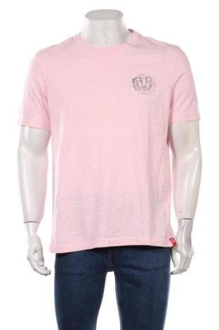 Мъжка тениска Edc By Esprit, Размер L, Цвят Розов, 100% памук, Цена 16,80лв.