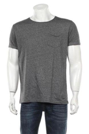 Мъжка тениска Edc By Esprit, Размер L, Цвят Сив, 50% памук, 50% полиестер, Цена 16,80лв.