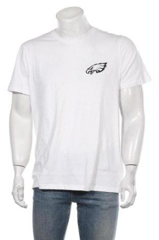 Мъжка тениска Eleven Paris, Размер L, Цвят Бял, 100% памук, Цена 47,40лв.