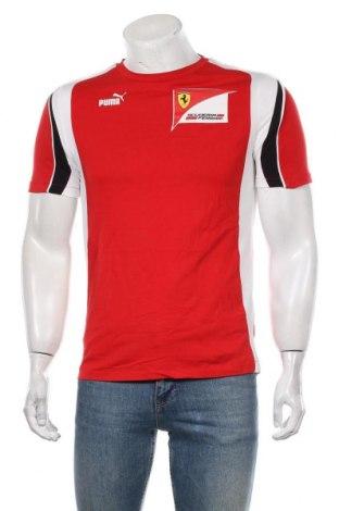 Мъжка тениска Ferrari X Puma, Размер S, Цвят Червен, Цена 43,00лв.