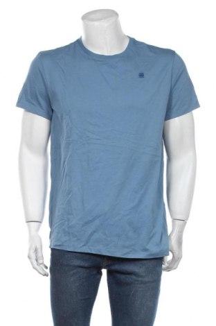 Мъжка тениска G-Star Raw, Размер L, Цвят Син, Памук, Цена 53,72лв.