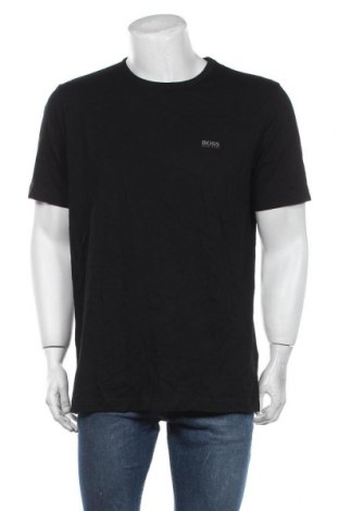 Мъжка тениска Hugo Boss, Размер XL, Цвят Черен, Памук, Цена 108,12лв.