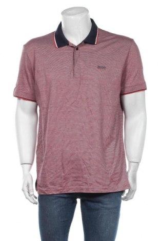 Мъжка тениска Hugo Boss, Размер XXL, Цвят Розов, Памук, Цена 94,52лв.