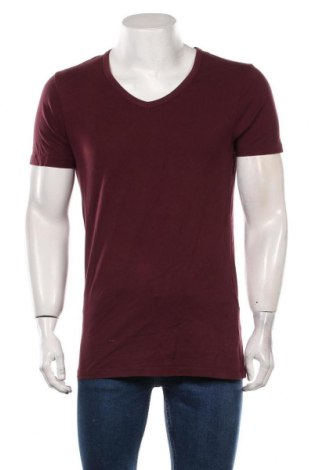 Мъжка тениска Jack & Jones, Размер L, Цвят Лилав, 92% памук, 8% еластан, Цена 14,70лв.