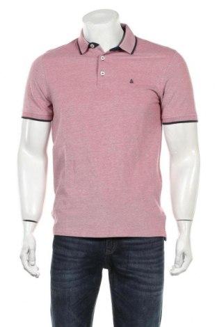 Мъжка тениска Jack & Jones, Размер M, Цвят Червен, Памук, Цена 29,00лв.