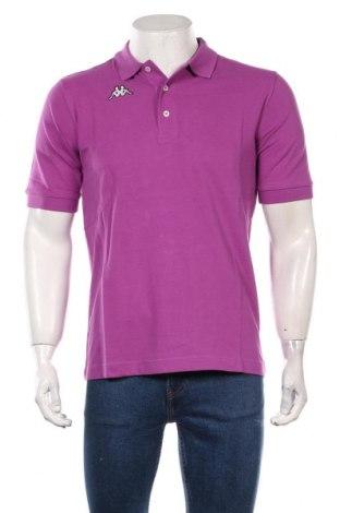 Мъжка тениска Kappa, Размер S, Цвят Лилав, Памук, Цена 24,00лв.